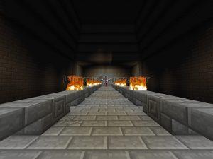 Mapa Minecraft Harry Potter: Cámaras Subterráneas 2