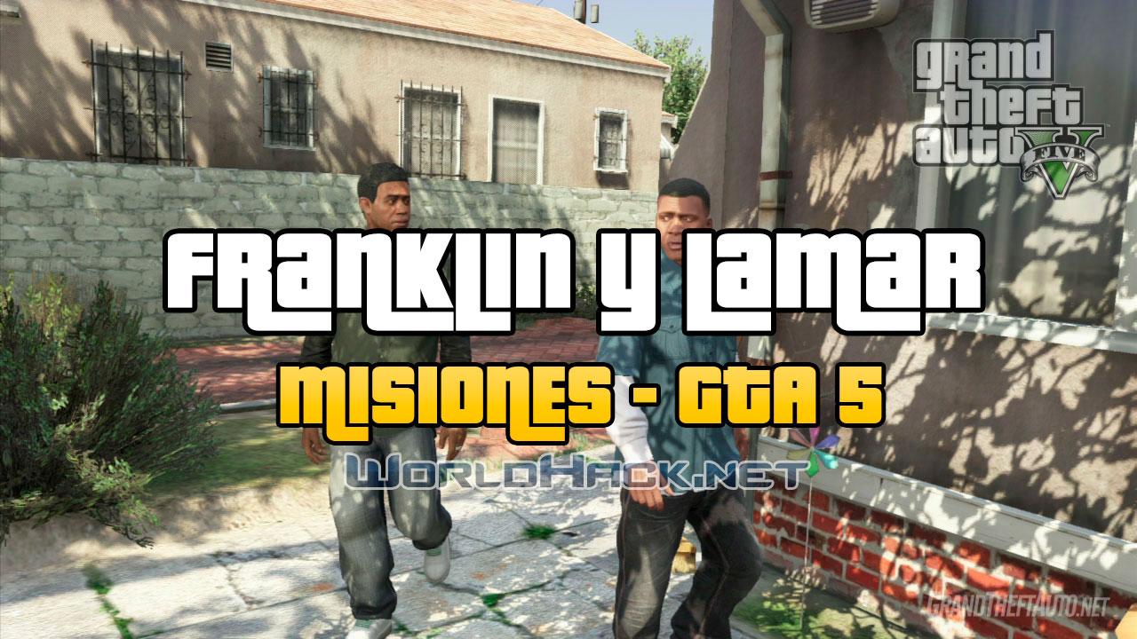 Franklin y Lamar - Misiones GTA 5